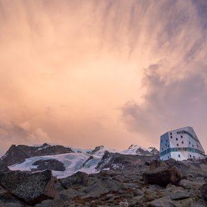 Gletschertrekking, Monterosa Hütte, Zermatt, Wandern