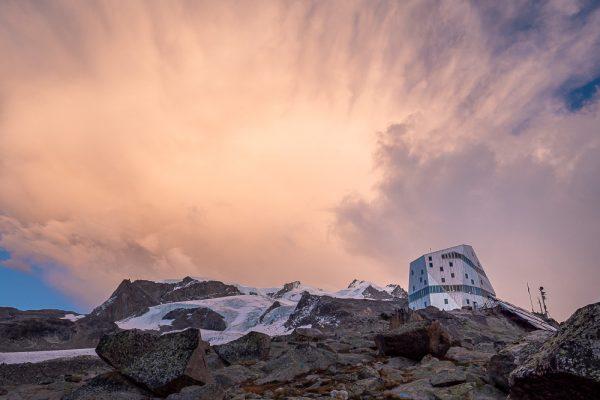 Monterosa Gletschertrekking, Monterosa Hütte, Zermatt