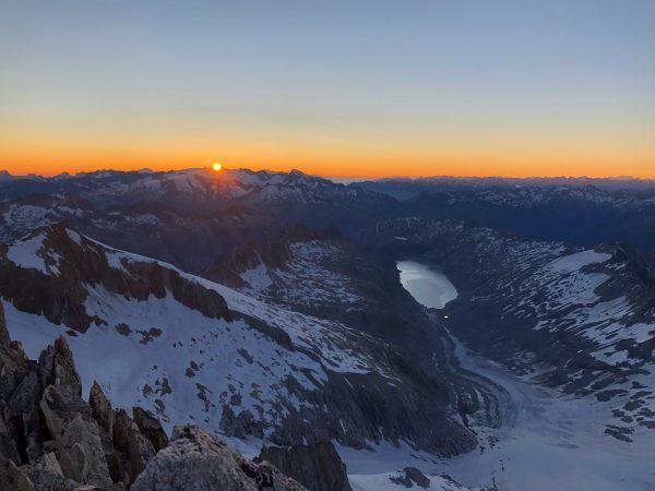 Oberaarhorn, Sonnenaufgang Tour, leichte Hochtour