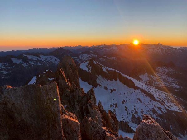 Oberaarhorn, Sonnenaufgang Tour